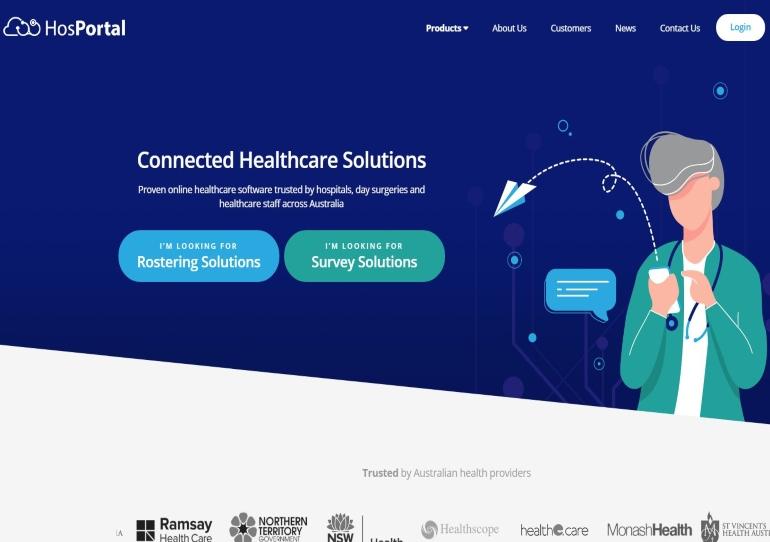 Introducing HosPortal's New Website